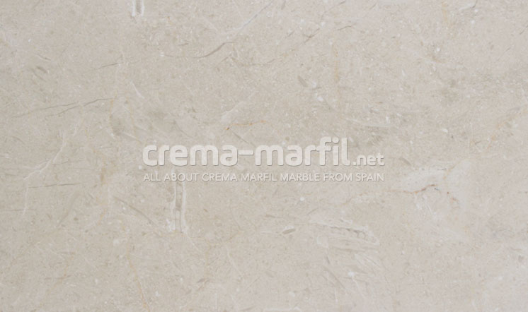 Crema Marfil marble honed