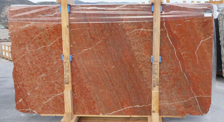 Rojo Alicante marble - Middle East